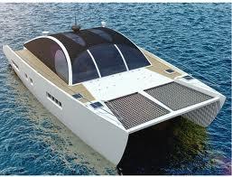Solar Boat cruising