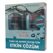 Avene Cleanance Yüz Yıkama Jeli 2li Set 200 ml Yağlı ve Akneli Ciltler için etkili çözüm http://www.dermoeczanem.com/avene-cleanance-cilt-temizligi