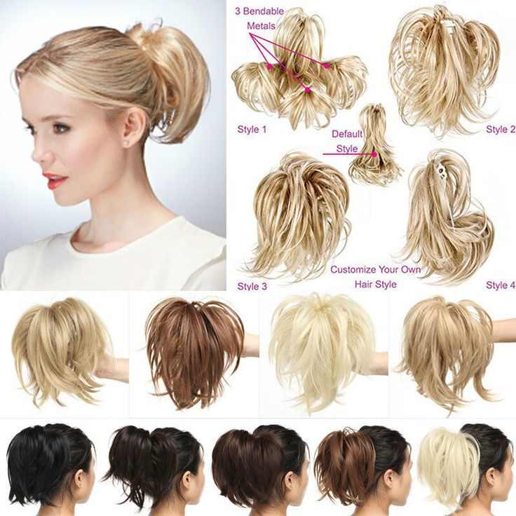 how to put in clip in hair extensions on short hair