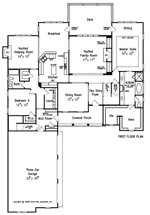 Kind of boxy but like it saxony home plans and house for One of a kind house plans