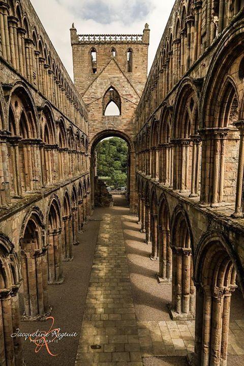 Abbey of Jedburgh Schotland