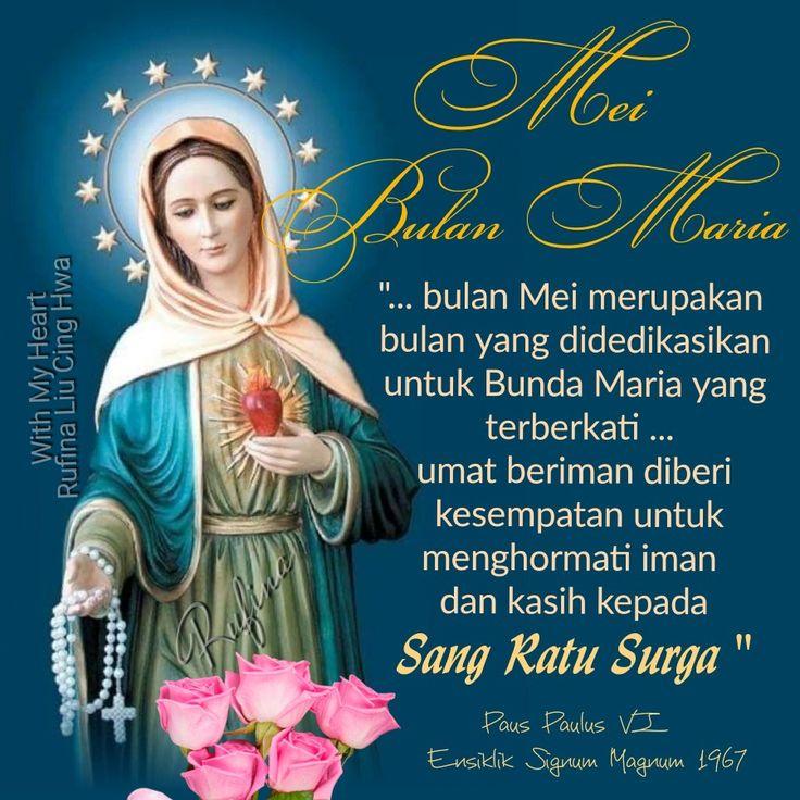 ✿*´¨)*With My Heart  ¸.•*¸.• ✿´¨).• ✿¨) (¸.•´*(¸.•´*(.✿ SELAMAT SORE....TYM ~  Selamat memasuki BULAN MARIA.  Setiap persoalan kuserahkan padaMu, Tuhan. St.Maria Bunda Allah doakanlah kami...Amen