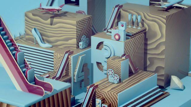 """GLITZ* ON TOP"" Performed by Turner InJaus for Argentina. Creative Director: Diego Fernandez Art Director: Paulo Santonocito Design, Storyboards, 3D Animation & Modelling,: Pablo Kerlleñevich Design & Logo: Dalmiro Buiges"