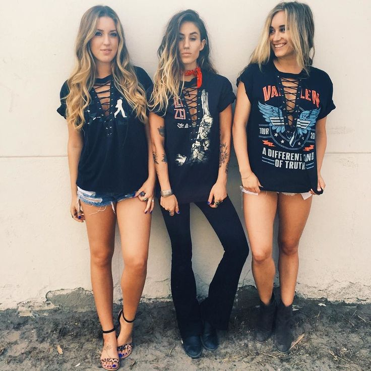 LACE UP BAND TEES ARE NOW ONLINE!!! Which one are you gonna get?…