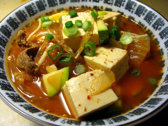 Kimchi Jjigae (김치찌개) - Korean Kimchi & Tofu Stew