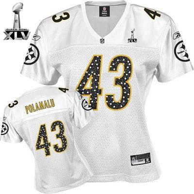 NFL Nike Pittsburgh Steelers 43 Game Fashion Jerseys Pittsburgh Steelers  Troy Polamalu 2011 ... a1b540ab5