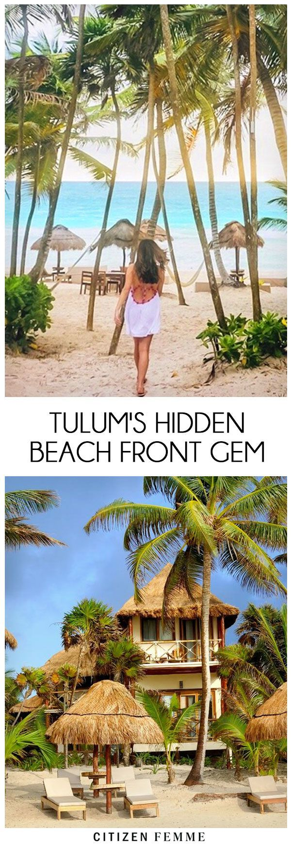 #mexico #beach  I spent my last day of 2016 in Tulum, Mexico celebrating the New Year and let me tell you it may have been the best New Year ever! Cheers to 2017!! Tulum has quickly become the hottest destination in the last two years and now I can see wh
