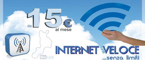 """Internet ADSL in Calabria - \""""Blu Link\"""" - Comunicare in Libertà - Home"""