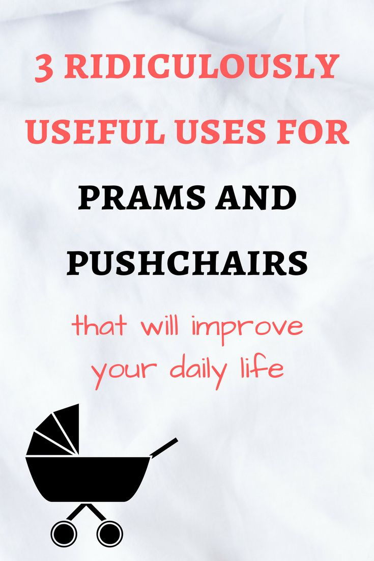 Alternative Uses for Prams and Pushchairs