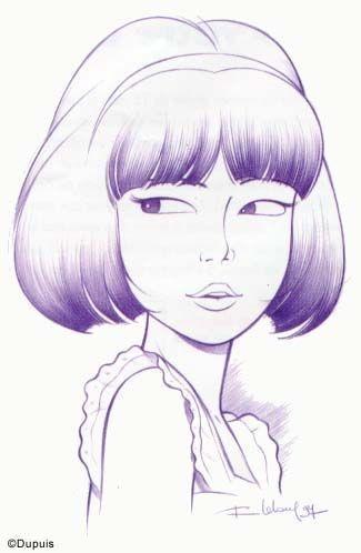 """""""Yoko Tsuno"""" série de bande dessinée créée en 1970 par l'auteur belge Roger…"""