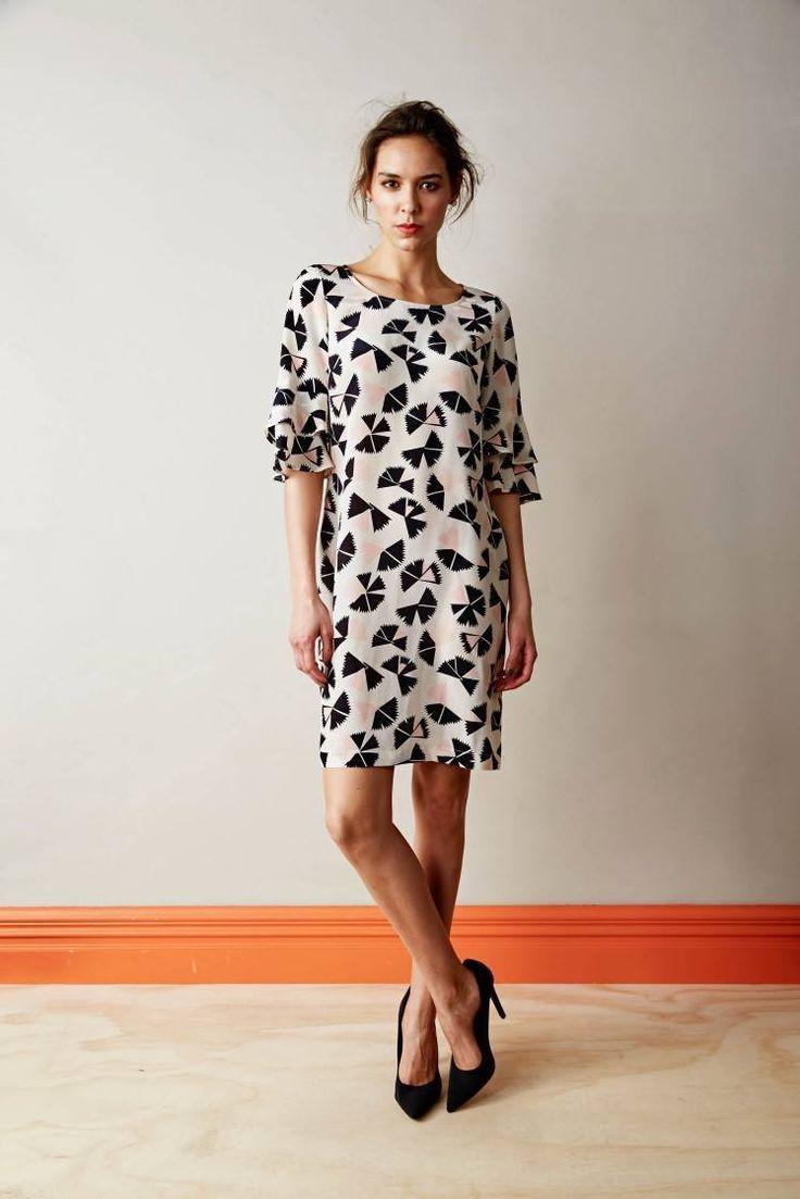 The Paua Room - Catalyst Funwheel silk dress, $169.00 (http://www.thepauaroom.com/catalyst-funwheel-silk-dress/)