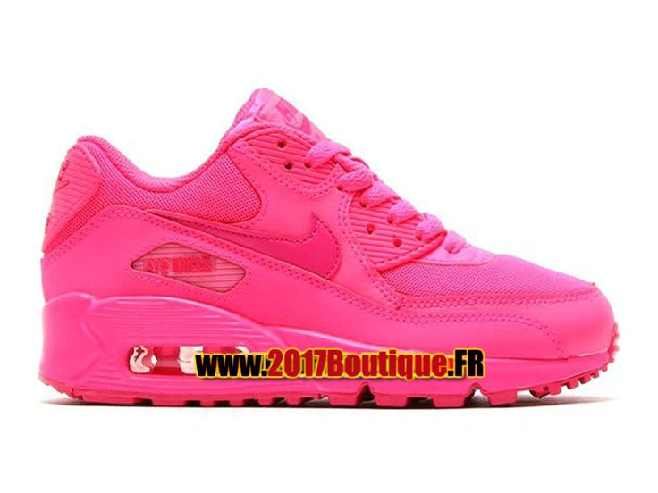 Nike Air Max 90 2007 PS Chaussure Nike Basketball Pas Cher Pour Enfant Rose 345017-601E