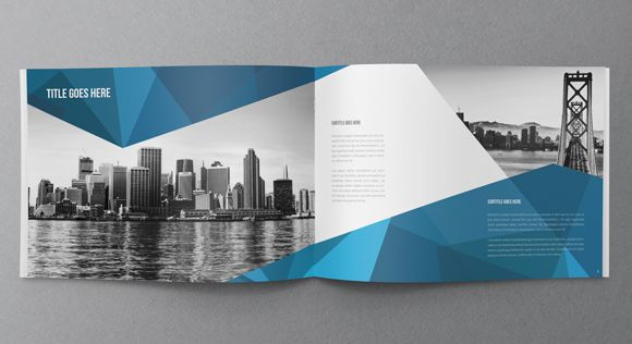 architecture themed brochures