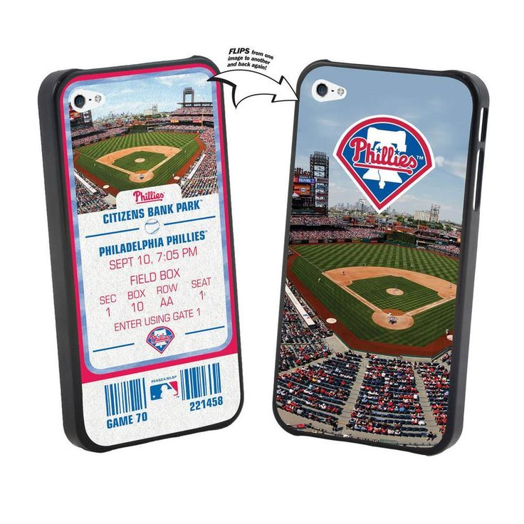 Iphone 5 MLB Philadelphia Phillies Stadium Lenticular Case