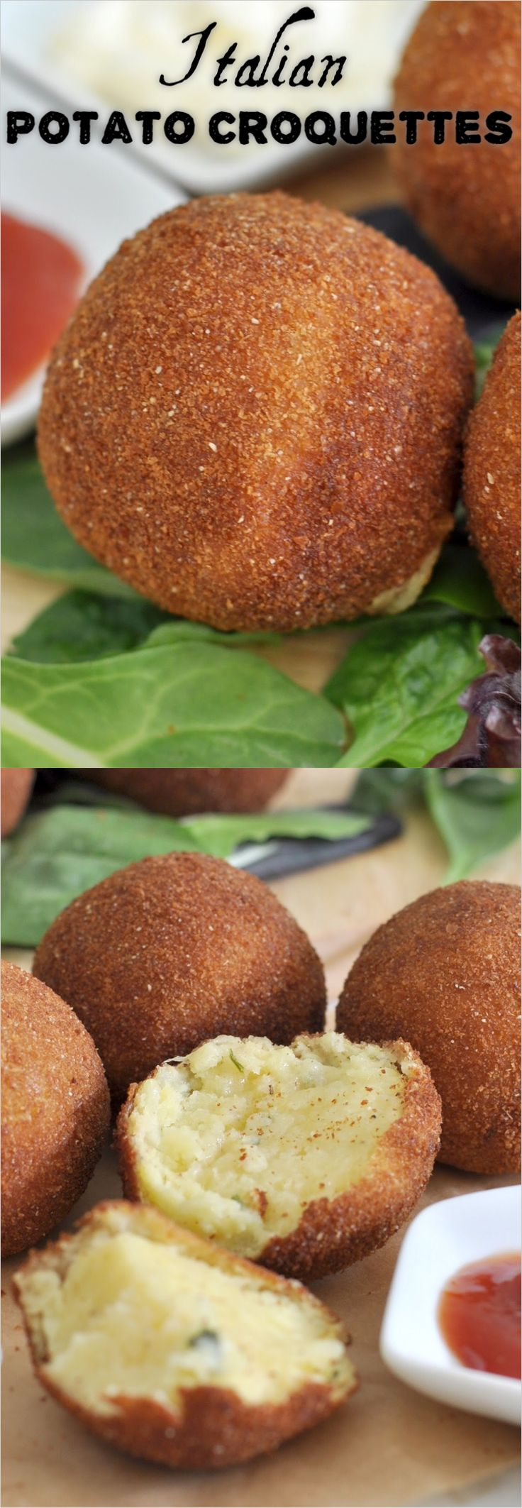 47 best manuelas appetizer recipes images on pinterest easy how to make italian potato croquettes forumfinder Images