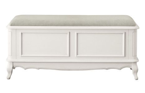 Provencale - Dove Grey Blanket Box