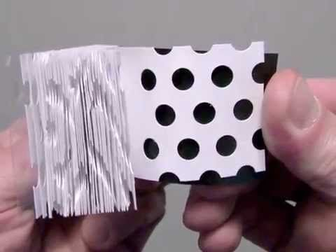 Hole Punch Flipbooks by Scott Blake