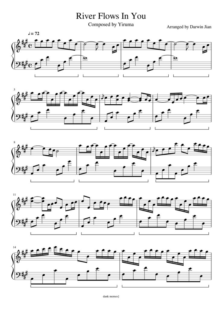 All Music Chords sheet music for river flows in you : The 25+ best River flow in you ideas on Pinterest | Piano sheet ...