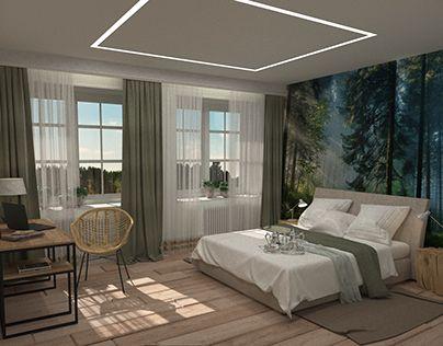 "Check out new work on my @Behance portfolio: ""Теплая и уютная спальня Bedroom"" http://be.net/gallery/52916049/teplaja-i-ujutnaja-spalnja-Bedroom"