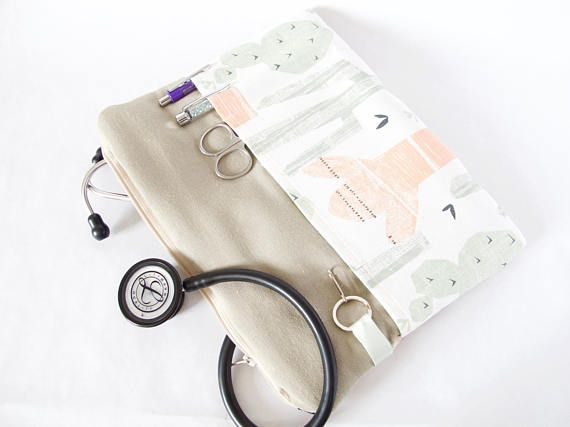 Stethoscope Pouch for Medical Professional. Nursing Student.