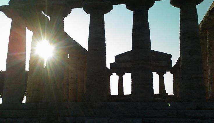 Paestum 02 Il Tempio di Cerere o Atena 500 a.C.
