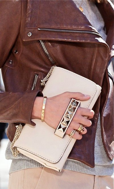 Valentino studded clutch - I have been wanting this for a year