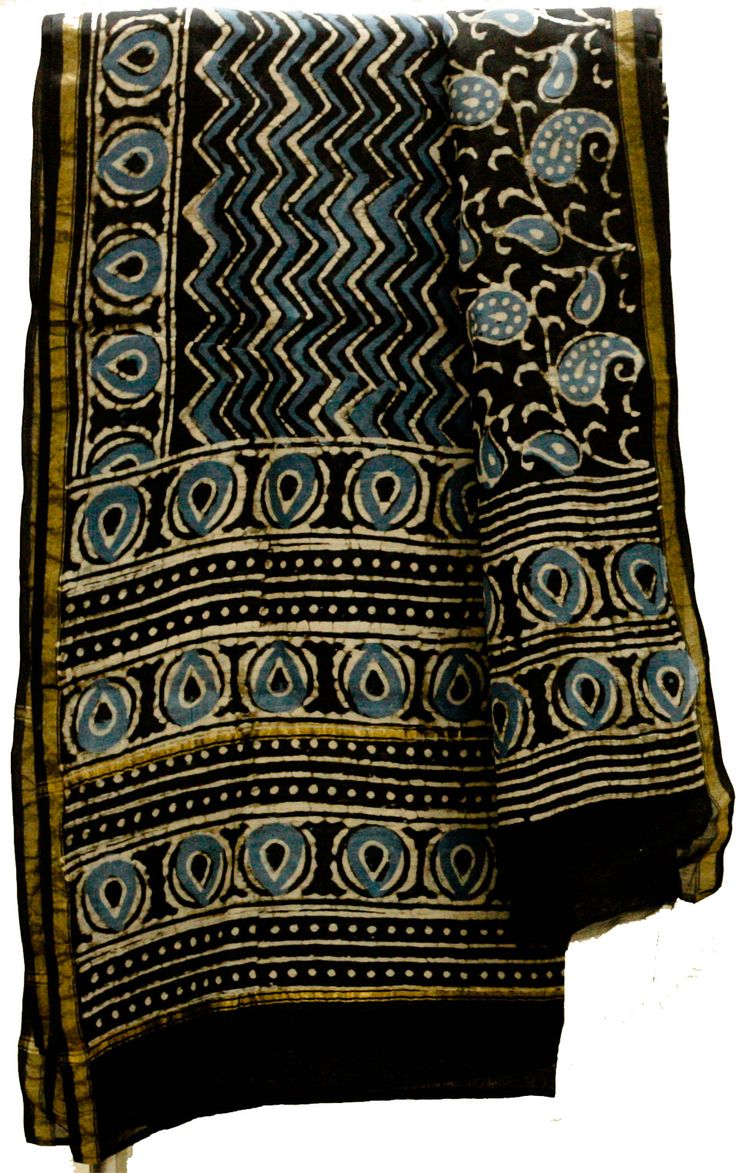 Ajrakh Dupatta has complex set of prints that give a perfect contrast look when paired with simple plain suits. Ajrakh Dupatta usually matched with any Kurta, looks remarkably impressive. Warli Paintings reflect lifestyle. Unlike other arts, it reflects everyday life with basic objects and colors- mostly white. Itiee-Kritee deals in range of Dupattas, Sarees, Stoles and andress Materials. We deal in handwoven like Tussar, Maheshwari, Chanderi etc.