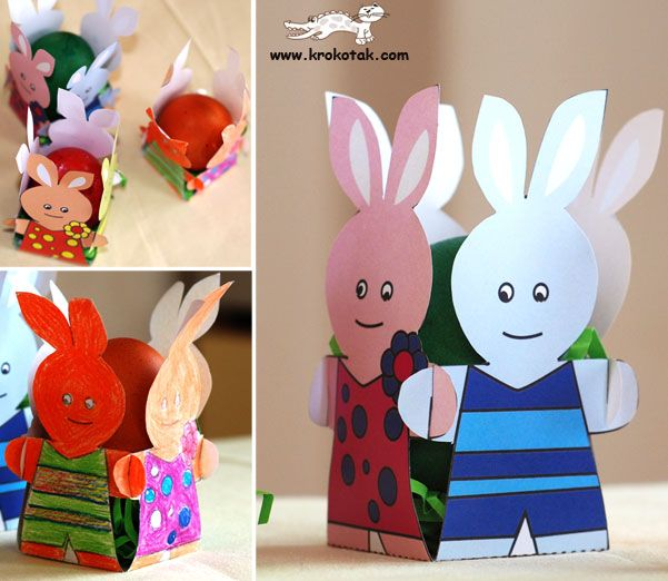 Kid's Easter Egg Stands