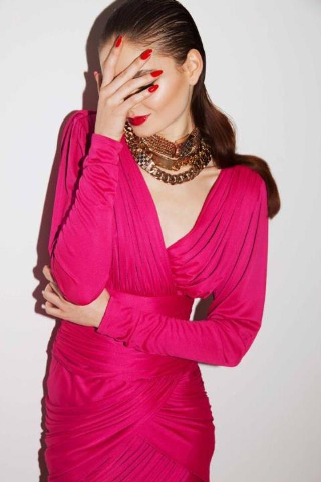 Amber Sceats Jewellery, makeup by Natalie Urban