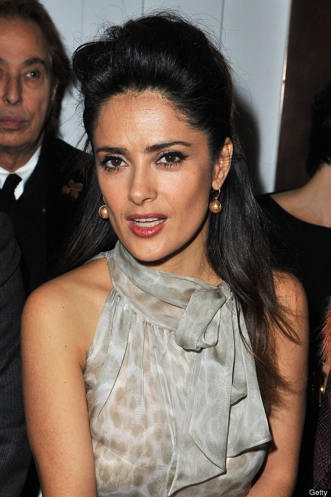 Before this incident I liked Salma Hayek...but afterwards I admired her.