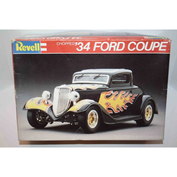 REVELL 1982 CHOPPED u002734 FORD COUPE 125 SCALE MODEL KIT #7239  sc 1 st  Pinterest & 224 best PLASTIC MODELS AND KITS images on Pinterest | Plastic ... markmcfarlin.com