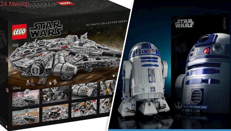 Halcón Milenario de LEGO y R2-D2, juguetes que querrás tener