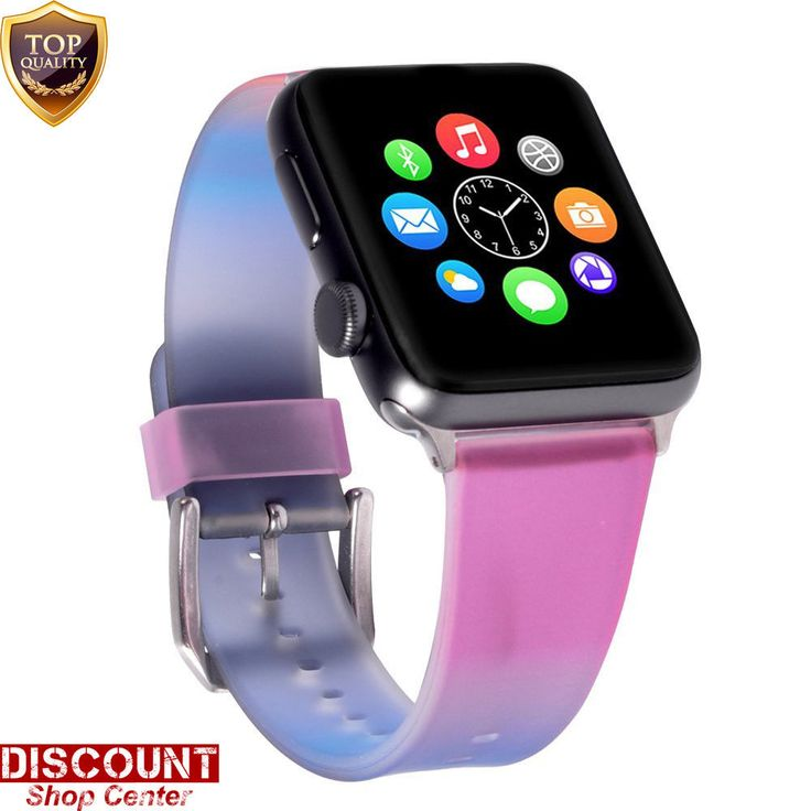 Silicone Wrist Bracelet Sport Band Strap For Apple Watch 38mm Series 3 2 1 New #ForAppleWatch38mm