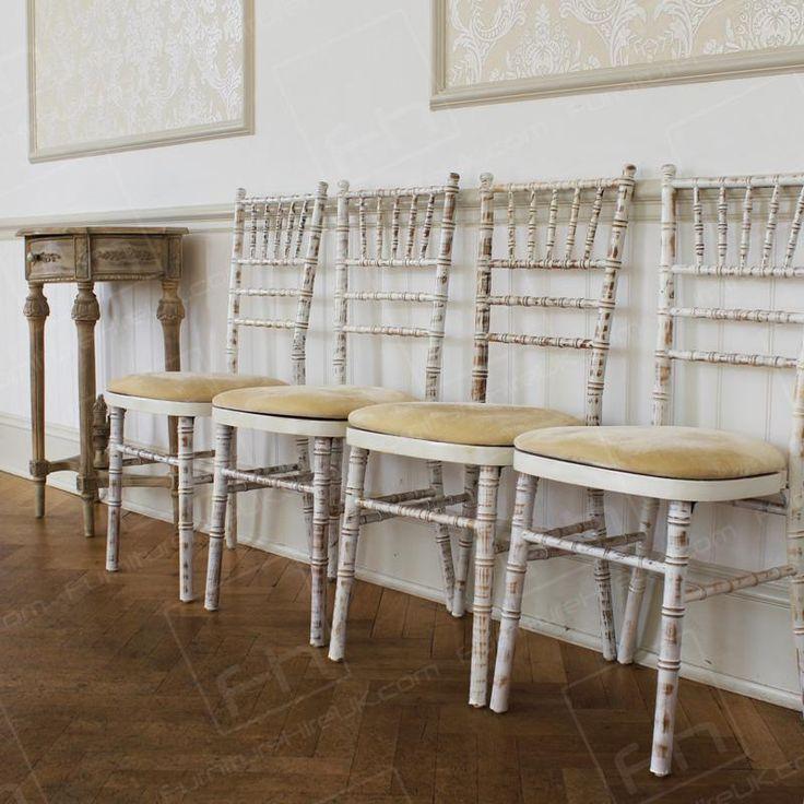 Chair hire: £2 each for a week. Limewash Chiavari Chair