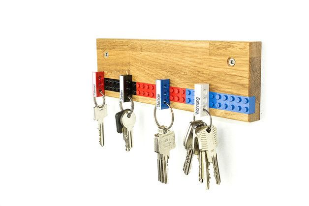 Schlüsselbrett PLAY Schlüsselleiste Eiche
