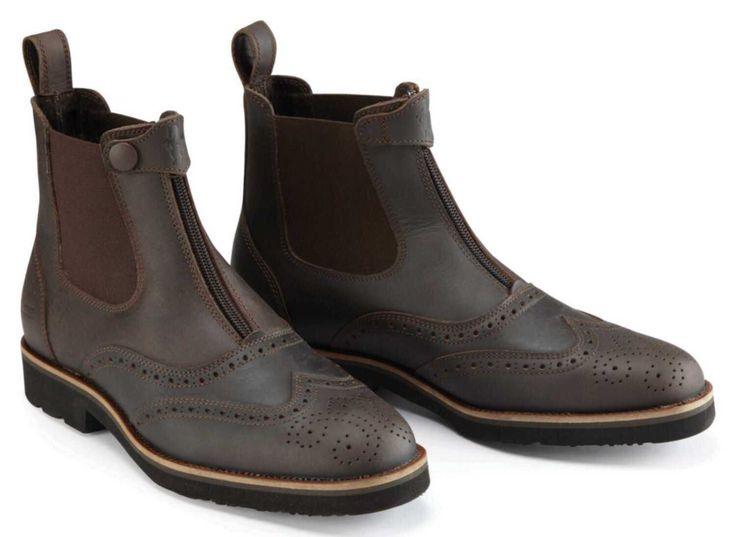 Bridestone Oxford Stiefeletten aus gewachstem Leder   Marken - Caldene   English Equestrian – Reitsportartikel für Reiter, Tiere und Pferdesport