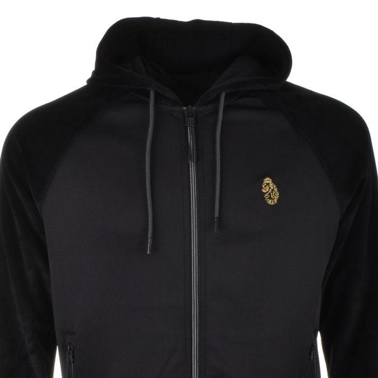 Luke 1977 Bonni Boiler Full Zip Hoodie Black | Mainline Menswear