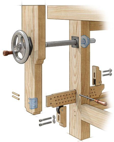 Les 25 meilleures id es concernant outils de menuiserie for Porte journaux en bois