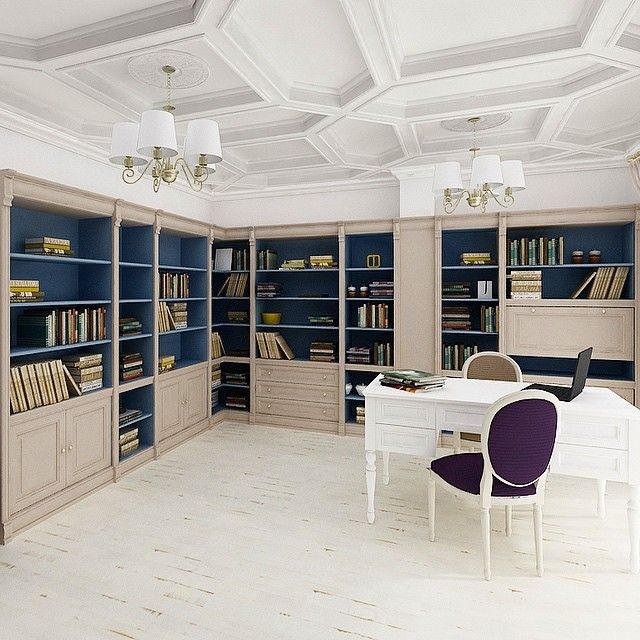 Library office design