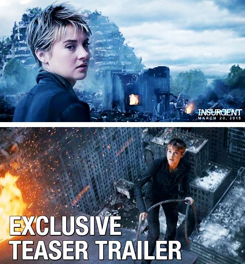 Two new promotional images for the Insurgent Teaser tomorrow