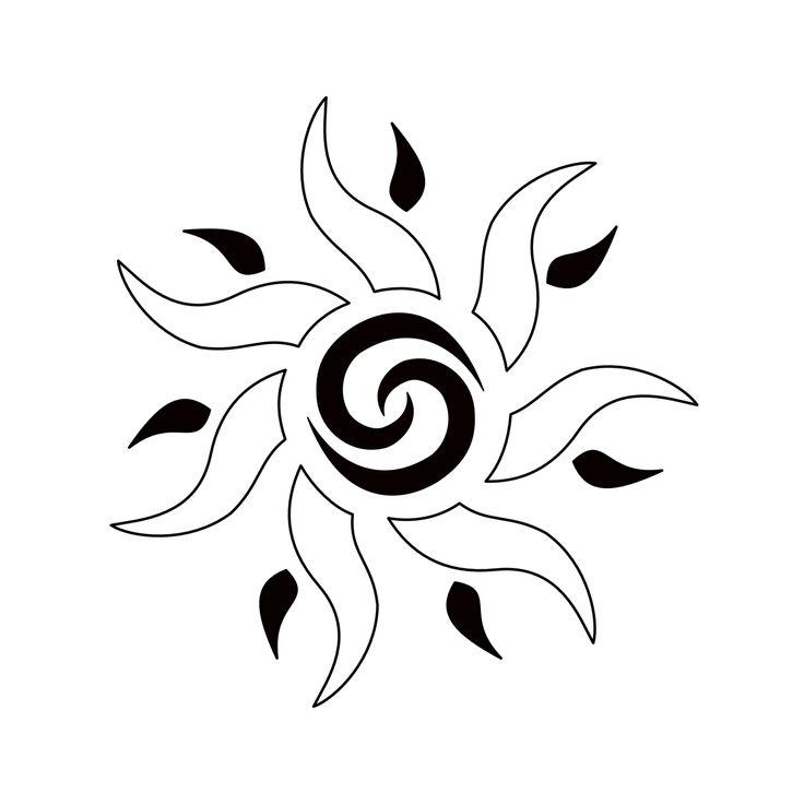 Tatuaggio di Sole, Unione, fertilità tattoo - custom tattoo designs on TattooTribes.com