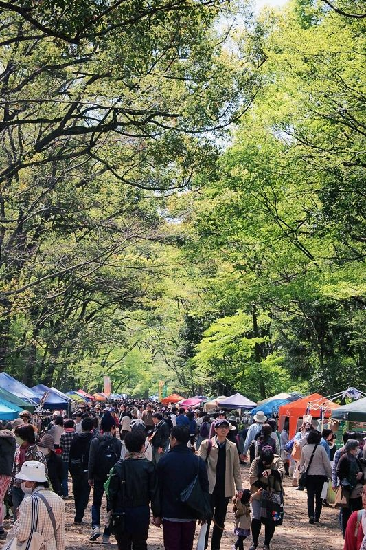 下鴨神社糺の森 森の手づくり市