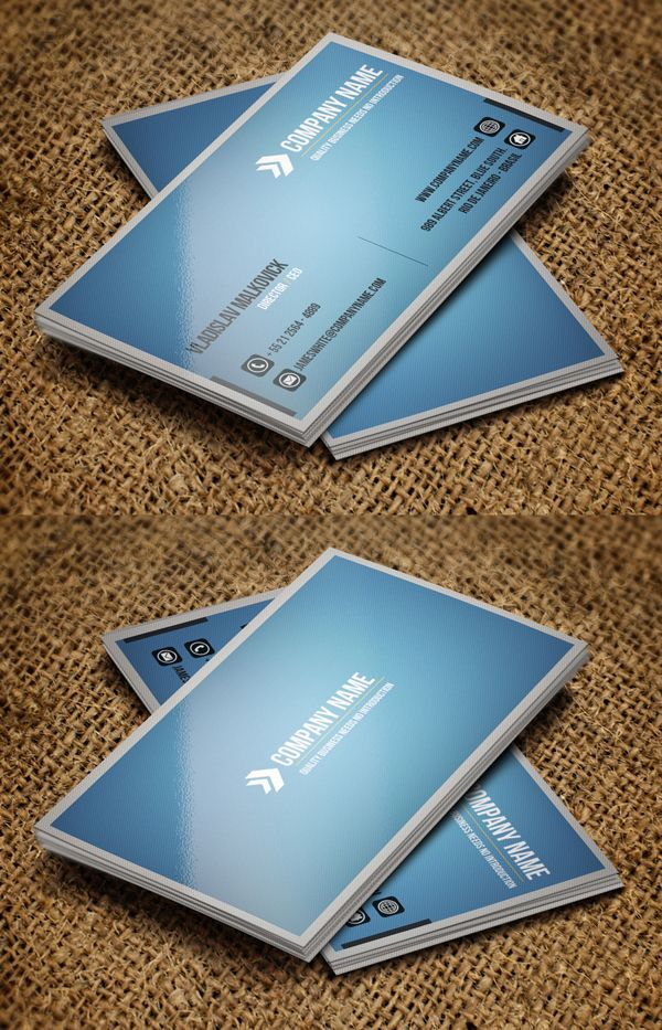 81 best business card ideas images on Pinterest | Corporate ...