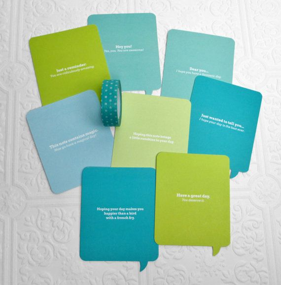 Random Quotes of Kindness Cards-Speech Bubble by ShareKindnessShop