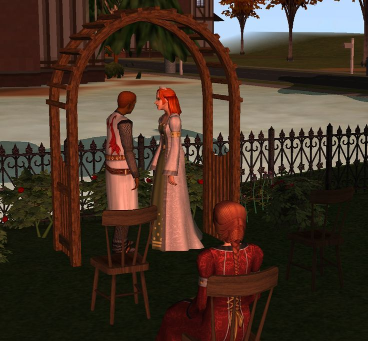 Wedding Altar Sims 2: 17 Best Images About Sims 2 Weddings: Arches, Flower