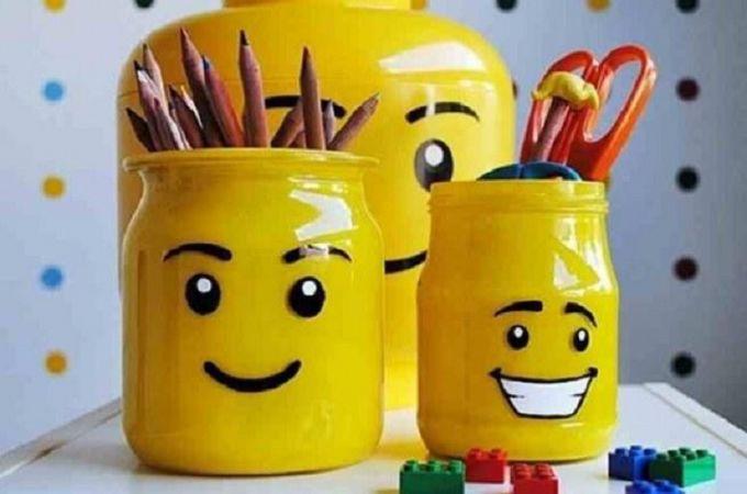 Comment faire un porte-crayon Lego! | Trucs et Bricolages