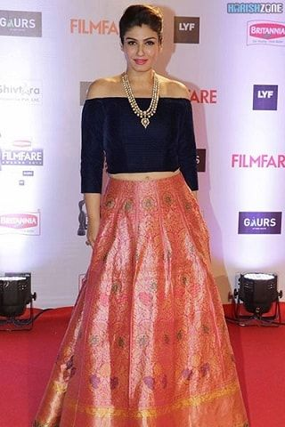 off shoulder lehenga blouse designs - Google Search