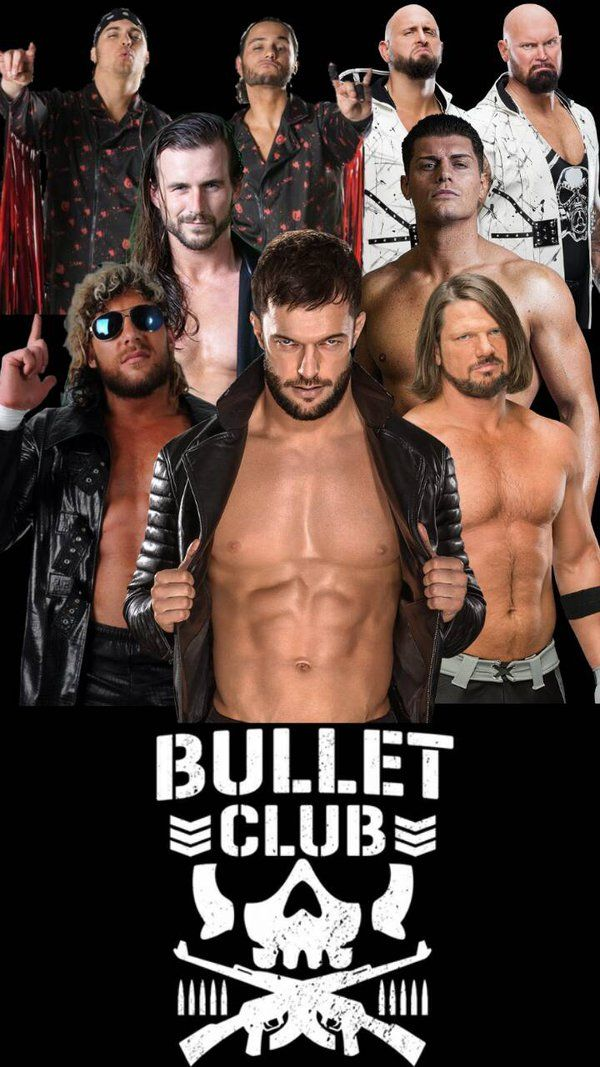 Bullet club V1 by amineelm00