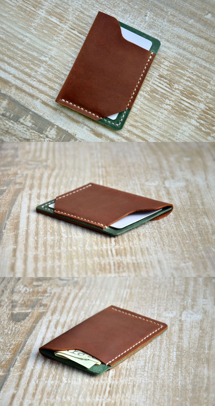 #wallet #leather #mens #card Mens Custom Leather Wallet , Slim Mens Wallets, Gifts for Men, Minimalist Gift Ideas, wallets for men, leather wallets,mens wallet, Handor