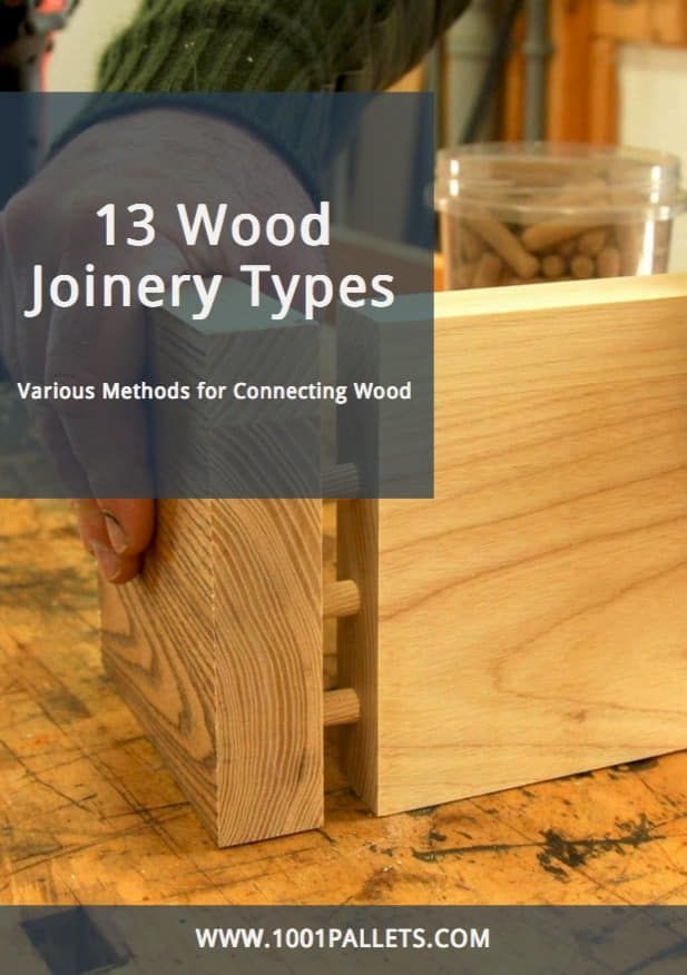 13 Wood Joinery Types Guide • Free PDF Tutorials   Wood